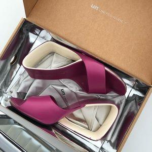 United Nude Purple Slides